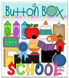 Button Box (School) - Treasure Box Designs Patterns & Cutting Files (SVG,WPC,GSD,DXF,AI,JPEG)