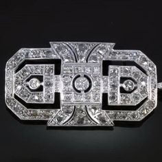 Amy Vermillion Interiors Art Deco brooch