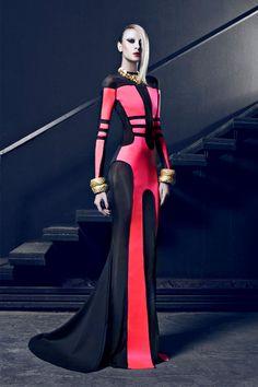 Provocative Dresses by Nicolas Jebran Nicolas Jebran Couture Fall/Winter Mode Cyberpunk, Cyberpunk Fashion, Cyberpunk Clothes, Runway Fashion, High Fashion, Street Fashion, Fashion Trends, Net Fashion, Fashion 2015