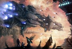 EPIC SCI-FI ART (imagineFX tutorial) by moonxels.deviantart.com on @deviantART