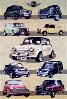 Image detail for -Classic Mini Cooper Poster. From Transports Poster shop