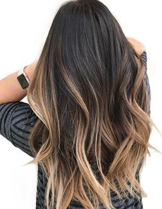 Balayage Blonde Hair Color Ideas 2018 with Swoopy Layers