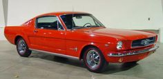 1965 Mustang (This is Pretty)