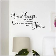 Youre Beautiful Vinyl Decal New Designs Best Ers Wall Decals