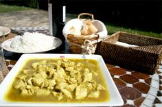 #Pavo al #curry