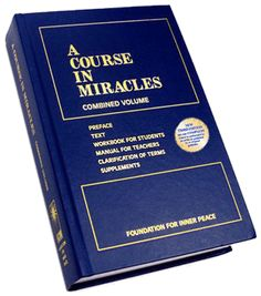 It is a work in progress, but I like the concepts and plan to keep at it.  A Course In Miracles - Foundation for Inner Peace