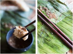 How to make Sticky Rice Cakes with Coconut Filling - Nom Nom