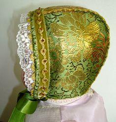 Christening bonnet, handmade by Lill Venke Hustvedt