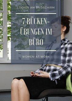 Fast 85 Prozent der Deutschen plagen Schmerzen im Rücken, viele regelmäßig. Einer der größten Rückenfeinde ist stundenlanges Arbeiten am Schreibtisch. Dabei gibt es wirksame Übungen, die schnell für Entspannung sorgen. Hier die 7 besten.