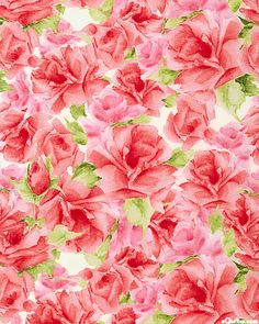 eQuilter Paisley Romance - Rosy Outlook Watercolor - Petal Pink