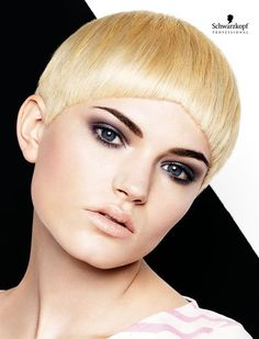 Mono Mods Short. Essential Looks Spring-Summer 2013. Schwarzkopf Professional.-pin it by carden