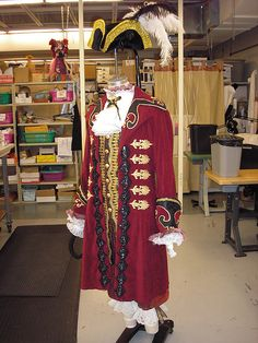 Halsey Onstage: Costume Design by Travis Halsey Movie Halloween Costumes, Toy Story Costumes, Boy Costumes, Peter Pan Costume Kids, Captain Hook Costume, Chicago Costume, Lost Boys Peter Pan, Pirate Garb, Kids Costumes Girls