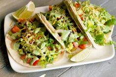A healthy take on tacos