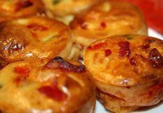 Petite bouchées aux lardons et comté au thermomix Baked Potato, Tapas, Macaroni And Cheese, Muffins, Menu, Baking, Breakfast, Ethnic Recipes, Food
