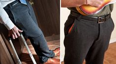 Goodbye Sliced Bread: Dress Pant Sweatpants Officially The Greatest Thing Now. #pajamasatwork