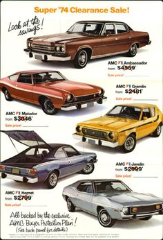 1974 AMC car ad