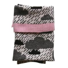 Donna Wilson Rainy Day Mini Blanket #donnawilsongiftsforkids