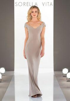 f84e5ef987c Sorella Vita 9126 V-Neck Bridesmaid Dress Wedding Bridesmaids