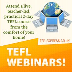 The Practical TEFL Webinar Course is an exciting short TEFL course taught in a virtual classroom. It allows you to take live lessons with a group of other students from around the world. Tefl Certification, Language Lessons, Teaching English, Lesson Plans, Students, Classroom, Teacher, Group, Live
