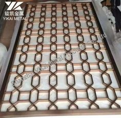 Metal Screen Decorative stainless steel Metal Gates, Metal Screen, Laser Cut Metal, Laser Cutting, Stainless Steel Screen, Laser Cut Screens, Window Grill Design, Security Screen, House Gate Design