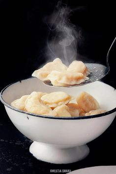Dumplings with curd cheese