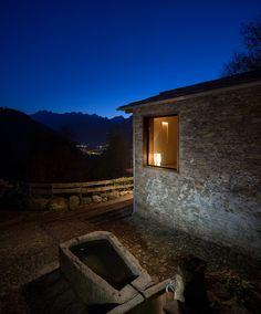 Restoration Of A 16th Century Mountain Village Stone House | iDesignArch | Interior Design, Architecture & Interior Decorating eMagazine