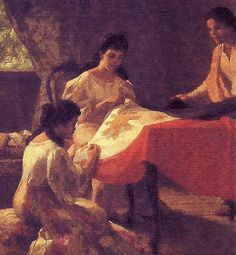 amorsolo paintings | File:Amorsolo's The Making of the Philippine Flag.png - Wikipedia, the ...