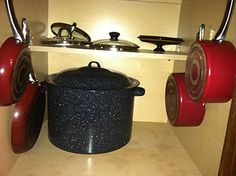 Easy way to organize your pots and pans :)