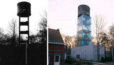 Modern Castles: 7 Cool Converted Watertower Houses