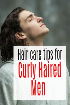 Curly Hair Men - How To Take Care of Natural Curls and other hair care tips for curly haired men #haircare #curlyhair #curlyhairmen #abeautifulspace Comb For Curly Hair, Curly Hair Men, Curly Hair Styles, Types Of Curls, Deep Conditioner, Natural Curls, Shiny Hair, Hair Care Tips, Straight Hairstyles