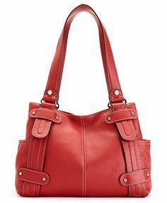 Tignanello Perfect 10 Leather Studded Per Handbags Accessories Macy S