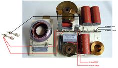 QUATTRO-mkII Diy Speakers, Speaker Design, Crossover, Bookends, Audio, Projects, Home Decor, Circuits, Audio Crossover