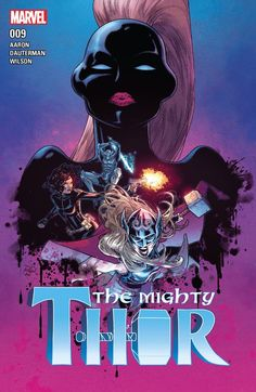 Marvel Comics The Mighty Thor Russell Dauterman Cover *Description: Marvel's most corrupt corporations are up to something sinister, but Comic Book Artists, Comic Book Characters, Comic Artist, Marvel Characters, Female Characters, Marvel Comics Art, Marvel Comic Books, Cosmic Comics, Thor Valkyrie