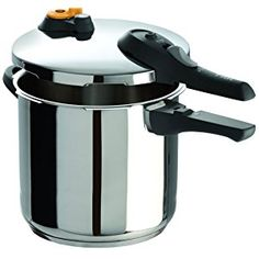 T-fal Stainless Steel Dishwasher Safe PTFE PFOA and Cadmium Free 10 / Pressure Cooker Cookware, Silver – 7114000516 – Online Cooking Store T Fal Pressure Cooker, Pressure Cooker Reviews, Stainless Steel Pressure Cooker, Best Electric Pressure Cooker, Stainless Steel Oven, Pressure Cooking, Slow Cooker, Rice Cooker, Home Design