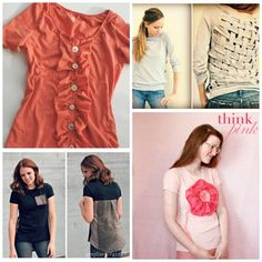 28 More Incredible T-shirt Refashions   Endlessly InspiredEndlessly Inspired