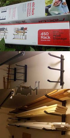 Wood storage idea
