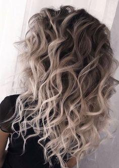 Balayage Hair Blonde, Brown Blonde Hair, Ombre Hair, Blonde Ombre, Colored Hair Tips, Long Face Hairstyles, Summer Hairstyles, Brunette Hairstyles, Casual Hairstyles
