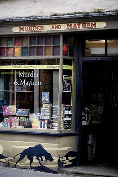 Murder and Mayhem | Hay-on-Wye, Wales- bookstore