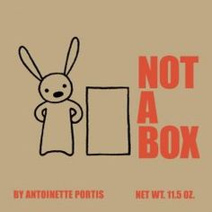 Letter X = Box. To an imaginative bunny, a box is not always just a box.
