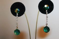 Vogue Jury Designer Couture Emerald Green by MyJewelsBoutique