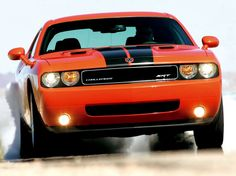 HEMI Orange Dodge Challenger SRT8