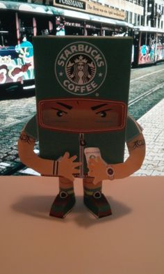 coffee paper toy3