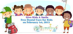 February is National Children's Dental Health Month. Dr. Sadineni, Dublin Ohio Dentist is once again taking part in the American Dental Association's Give Kids A Smile Day. We will be providing free dental services to low-income, uninsured children on Friday February 1st, 2013 at our office. Appointments are scheduled on a first come, first served basis, so please call us at (614) 766-5600 to schedule an appointment. | #pediatricdentistry #cavities #fluoridetreatment   #sealants…
