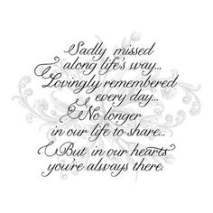 Light Box Insert - Sadly Missed In Loving Memory Quotes, Great Quotes, Love Quotes, Inspirational Quotes, Sympathy Quotes, Sympathy Cards, Funeral Quotes, Heaven Quotes, Heaven Poems