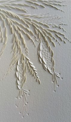 All Things Paper: Paper Poetry - Carved Paper Works by Domitilla Biondi
