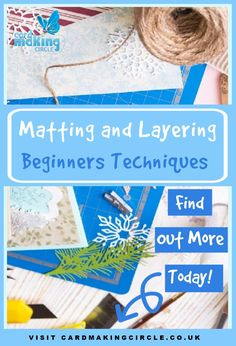 What is matting and layering? How do we use this in card making? Find out more today. #mattingandlayering #cardmakingtechniques #cardmakingforbeginners #cardmakingcircle Handmade Greetings, Greeting Cards Handmade, Lay Outs, Whimsy Stamps, Card Making Techniques, Create And Craft, My Glass, Card Maker, Simple Christmas