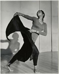 Student performing a modern dance :: Archives & Special Collections Digital Images :: circa 1967-1968