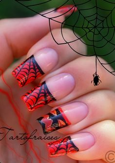 "These are very long, but I like that only the tips are decorated and the rest of the nail is ""natural""."