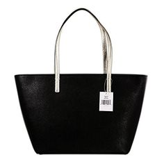 Women's Shoulder Bags - Kate Spade New York Gallery Drive Small Harmony  BlackGold -- You can find out more details at the link of the image.
