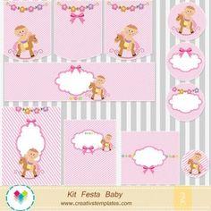 Kit Festa Bebê menina mod:753